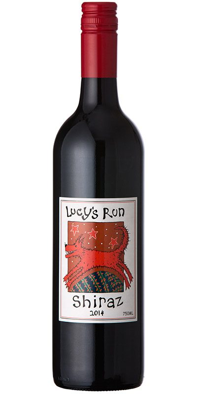 Lucy's Run 2014 Shiraz